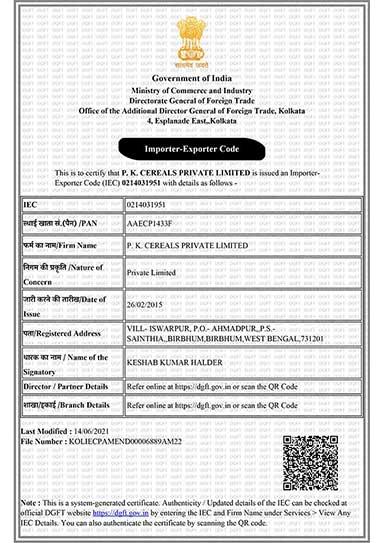 ed-IEC_-P-K-CEREALS-PVT-LTD